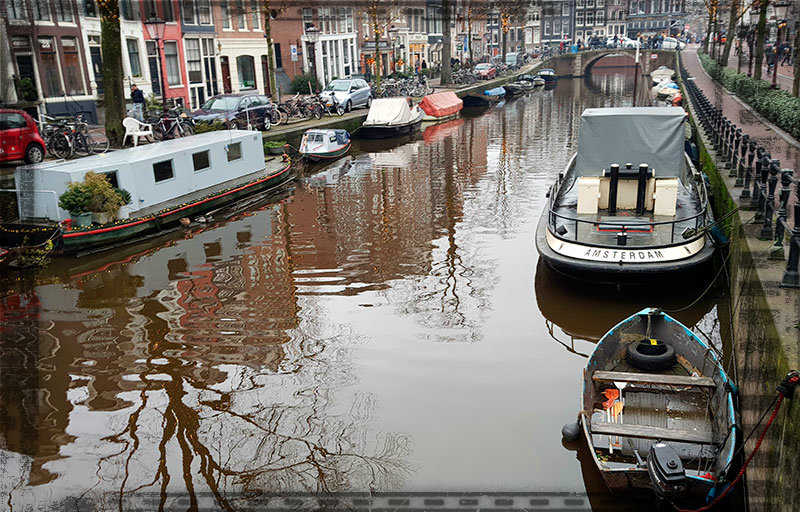Мы пили пиво в Амстердаме